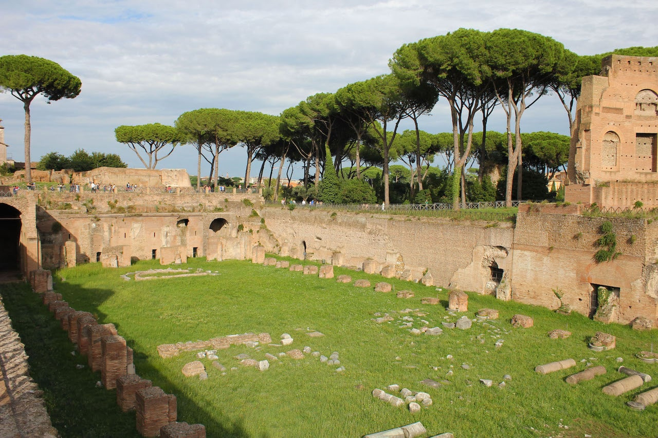 omnia card rome palatine hill