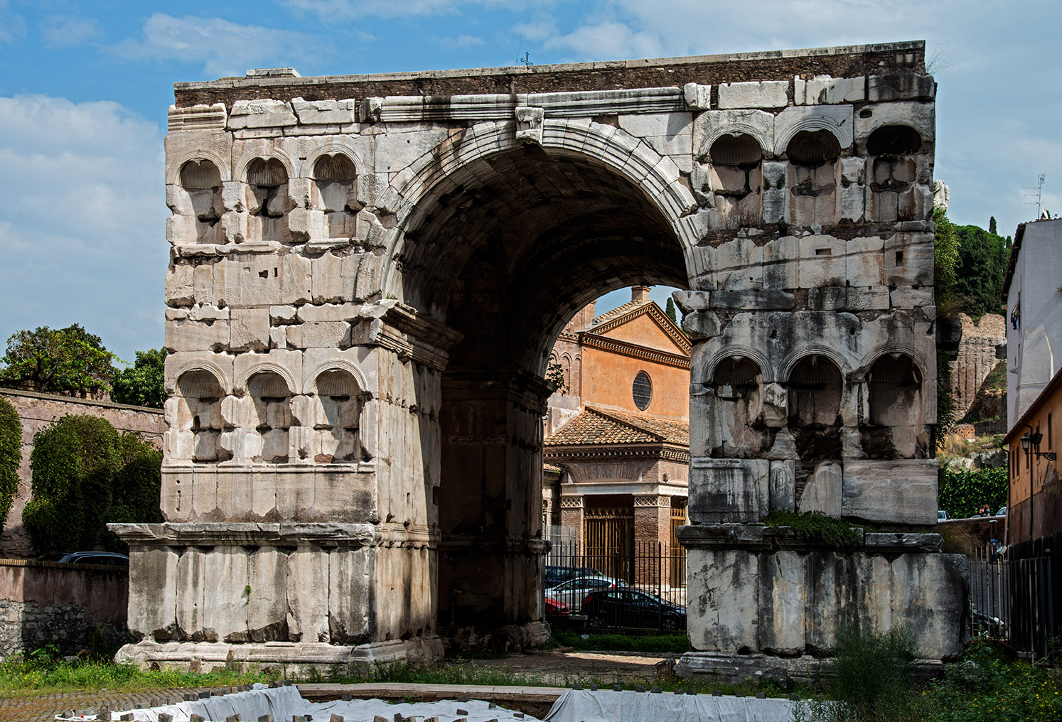 Forum Boarium Arch Of June