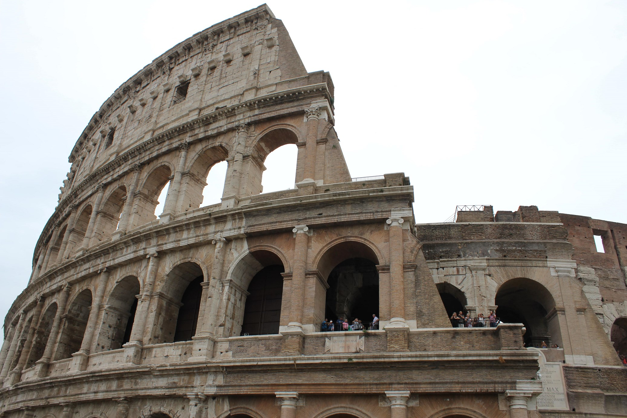 visiting the colosseum Header
