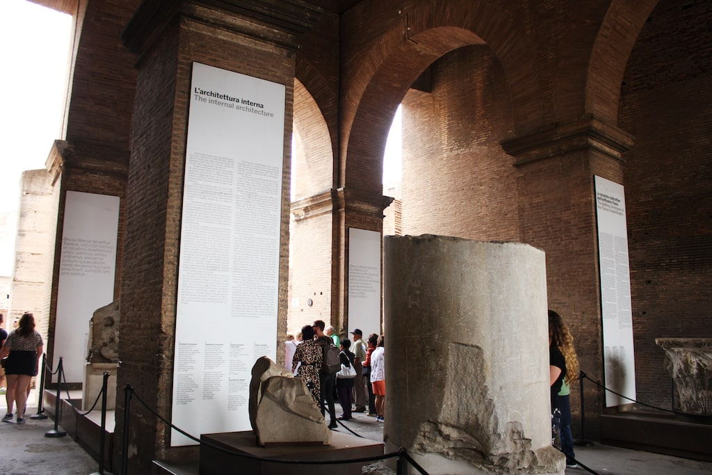 colosseum hours exhibition