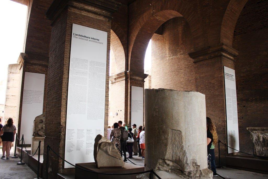 colosseum hours exhibition