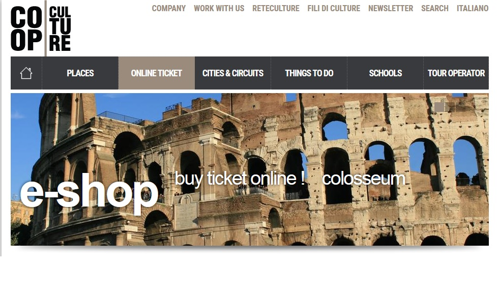 where to buy colosseum tickets Official website