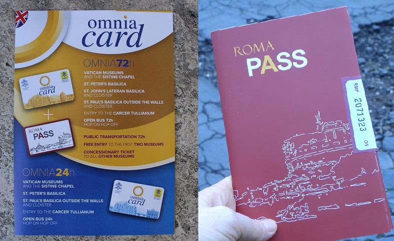 omnia card vs roma pass colosseum