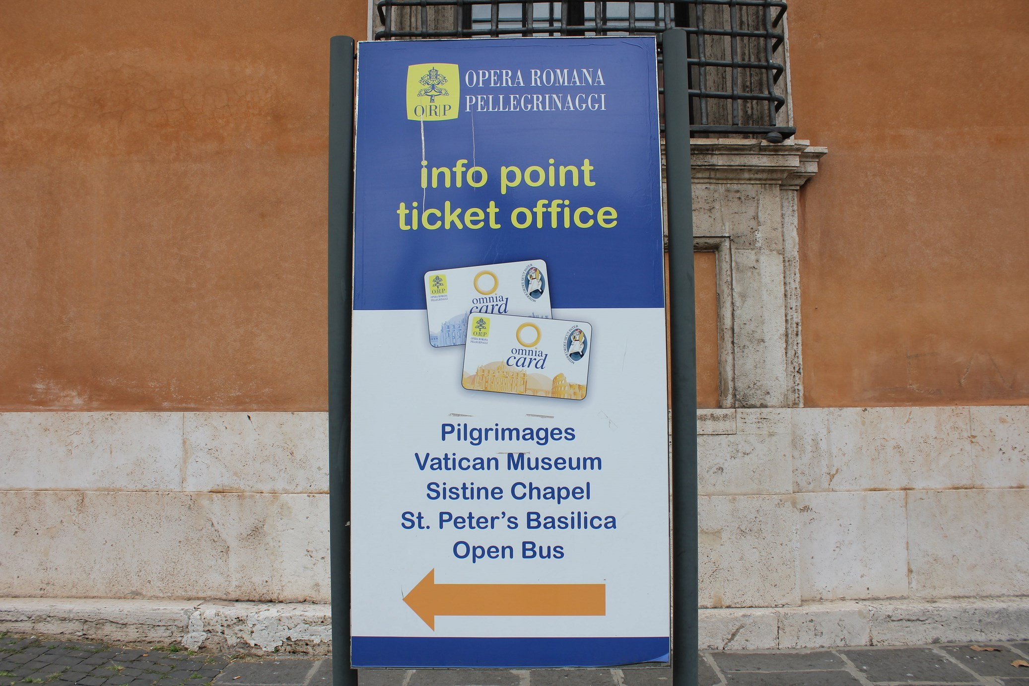 omnia card rome infos point
