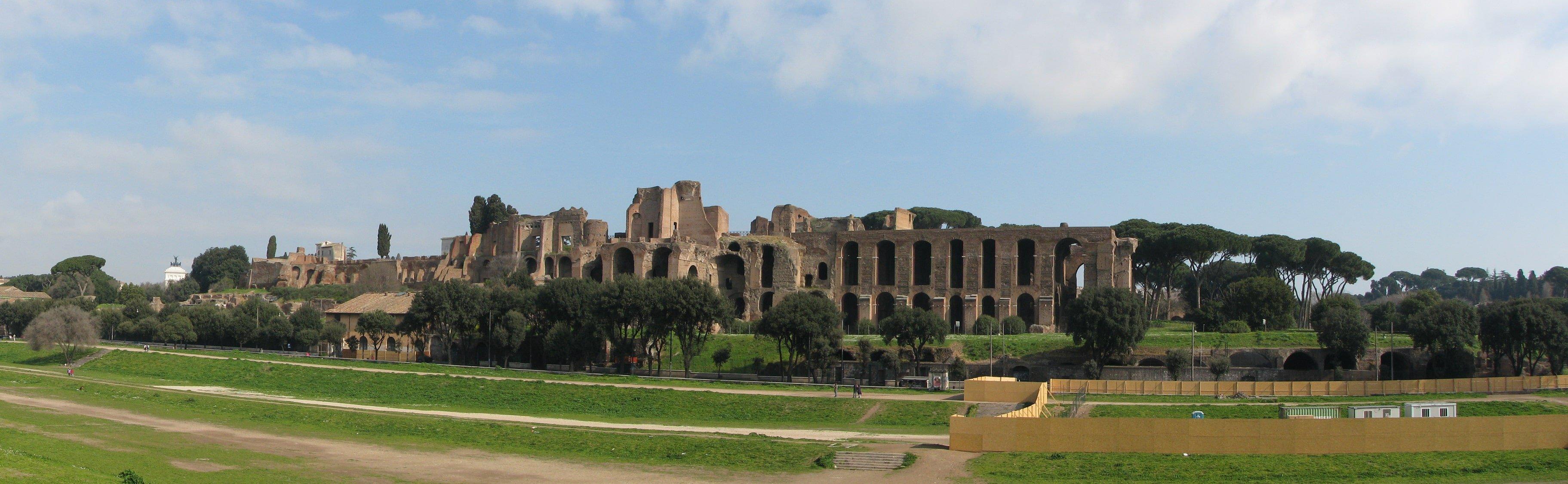 Circus Maximus tickets Palatine Hill Rome Panorama