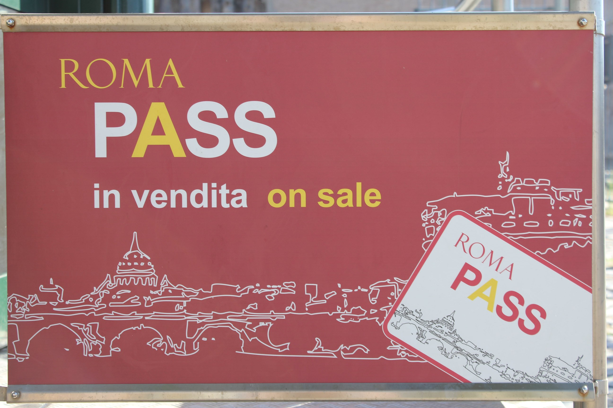 is roma pass worth it Roma pass info points