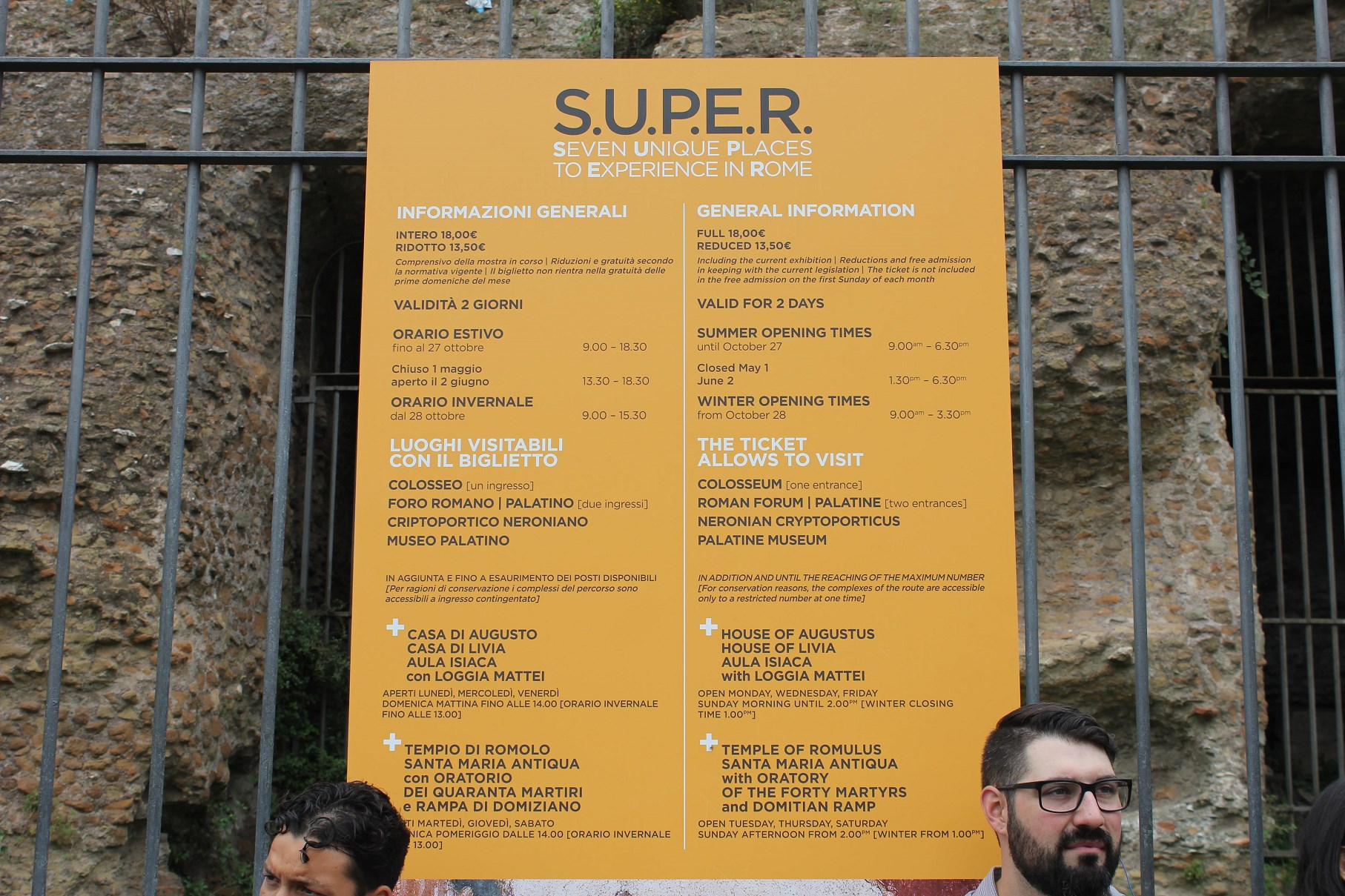 why visiting Colosseum S.U.P.E.R tickets