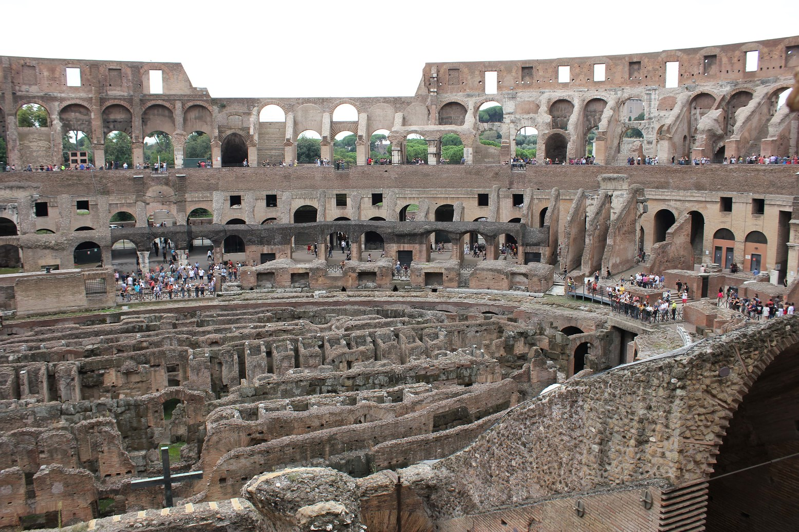 colosseum facts section