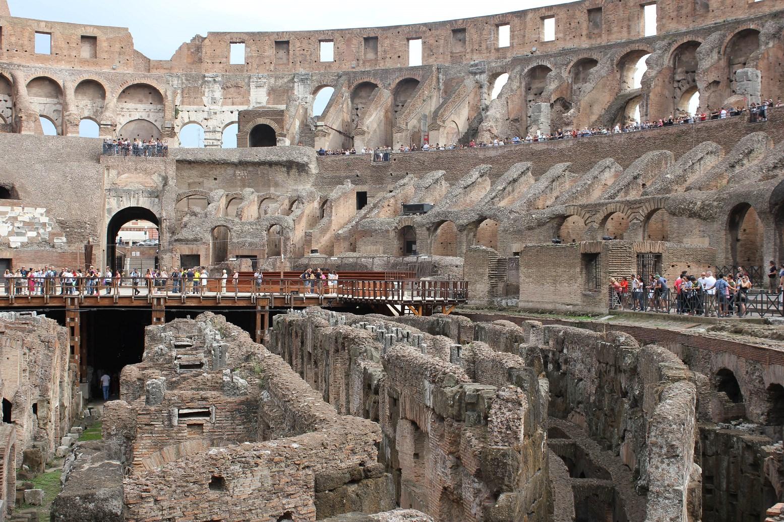 colosseum tours Underground rome