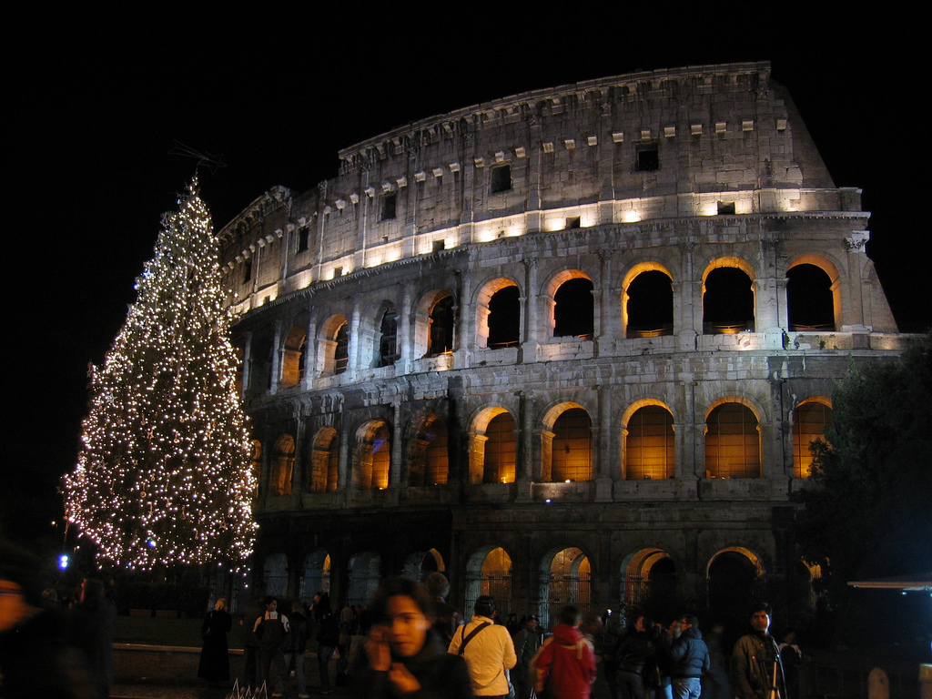 colosseum hours christmas
