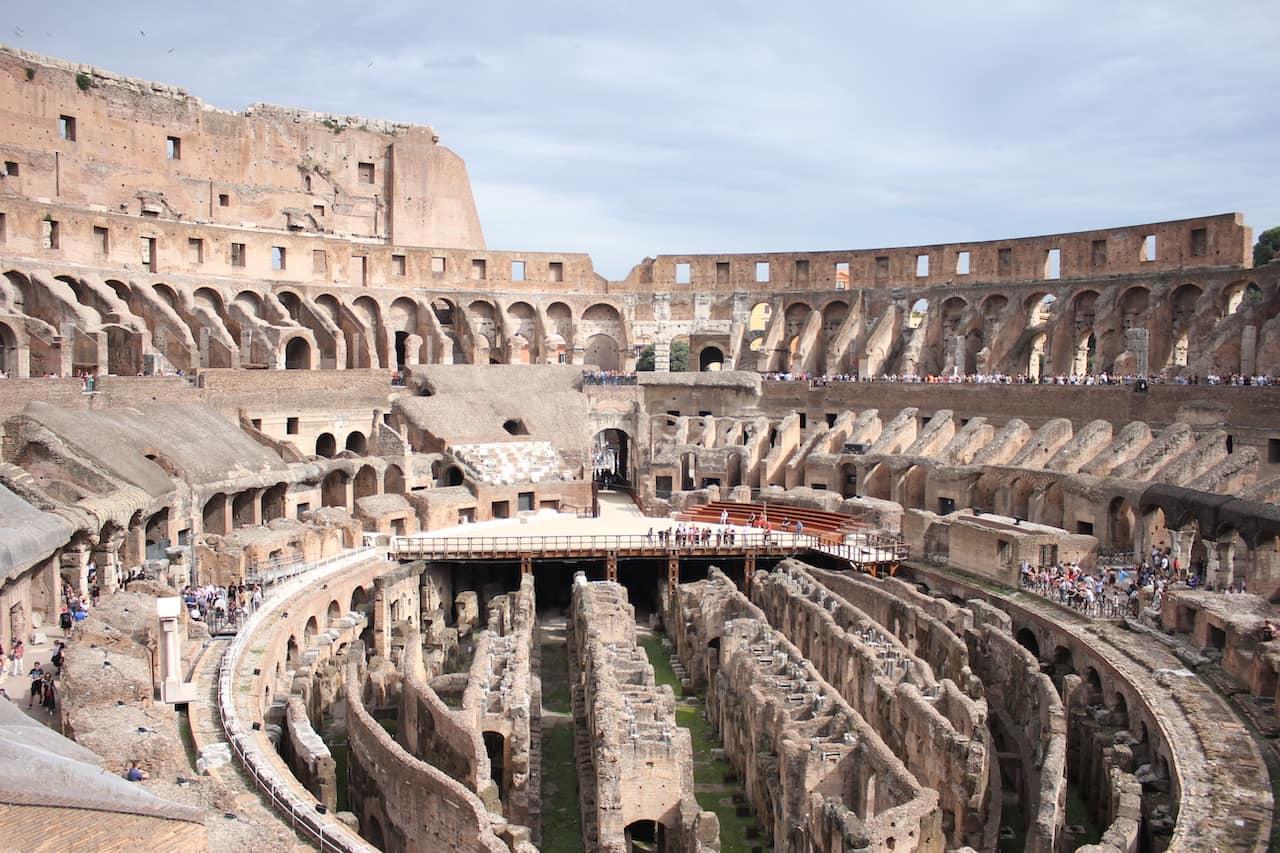 visit roman colosseum