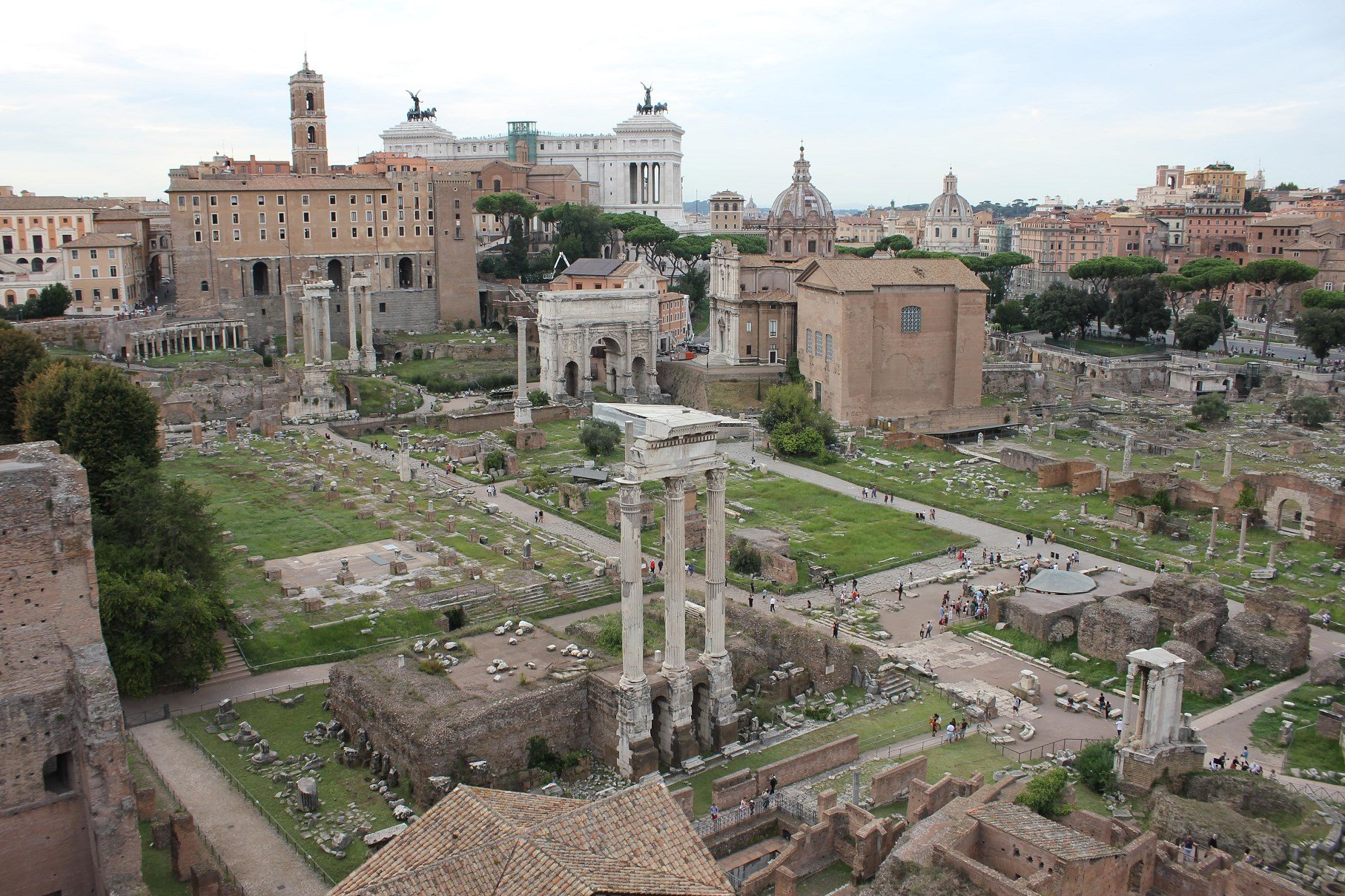 How to Visit the Roman Colosseum the roman forum and palatine hill