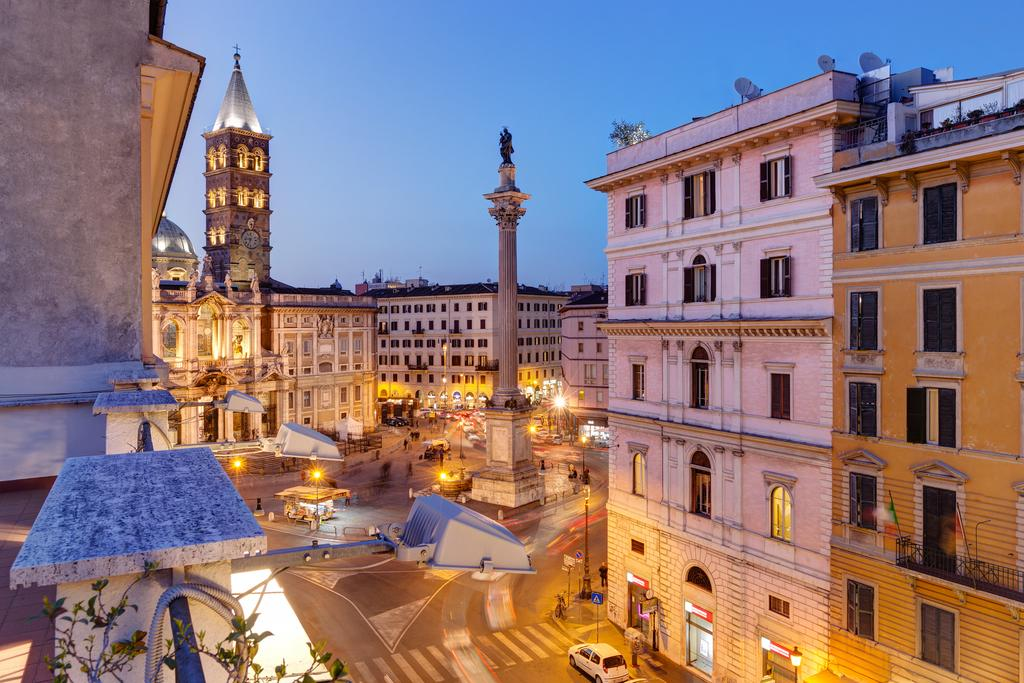 hotels near colosseum rome Amalfi Hotel