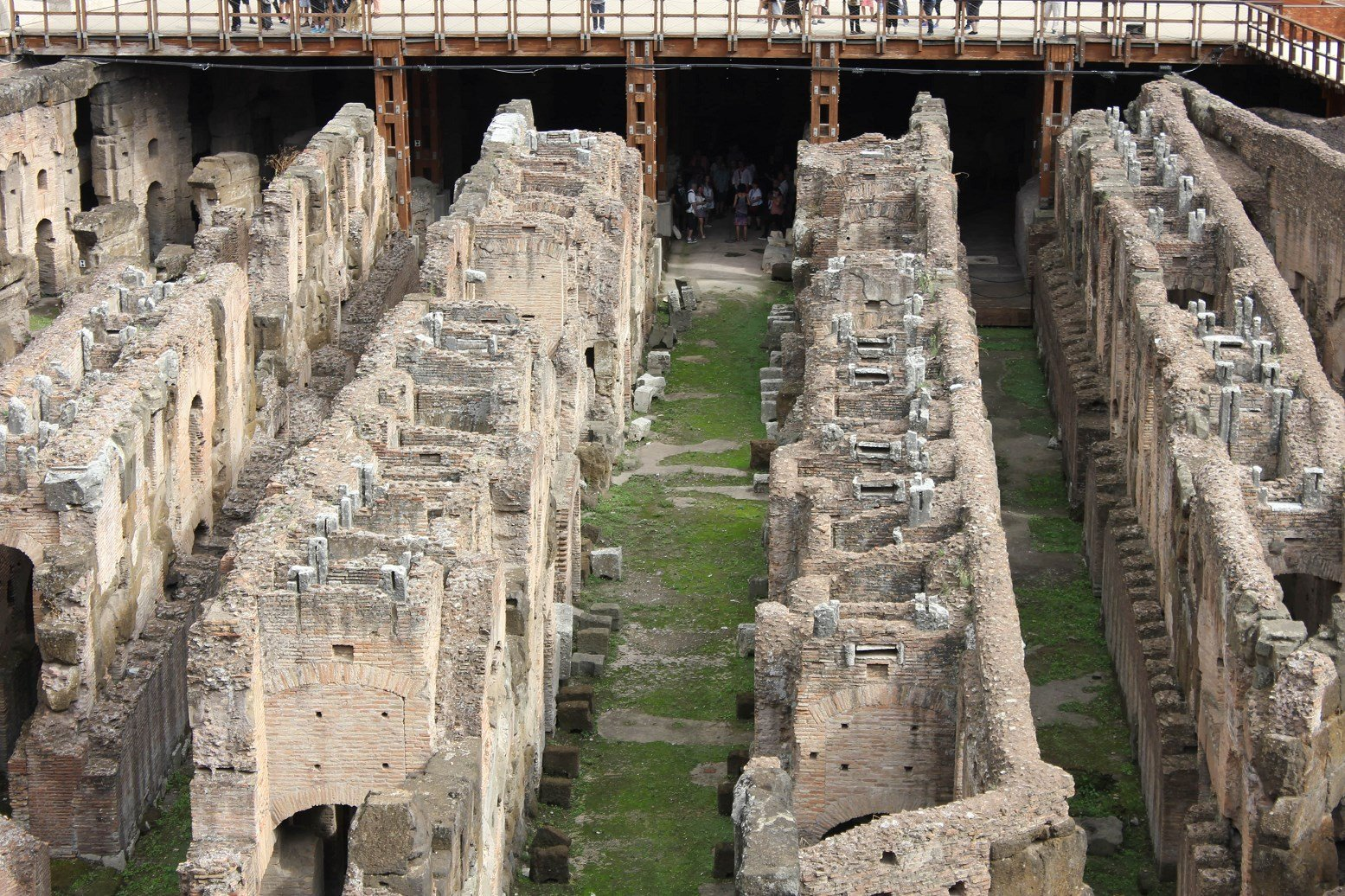 colosseum tours underground