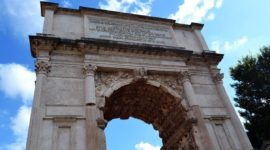 Roman Arch of Titus Tour, Architecture & Ticket Information