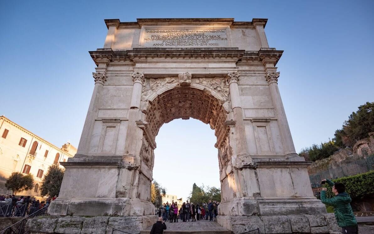 Arch of Titus architecture details