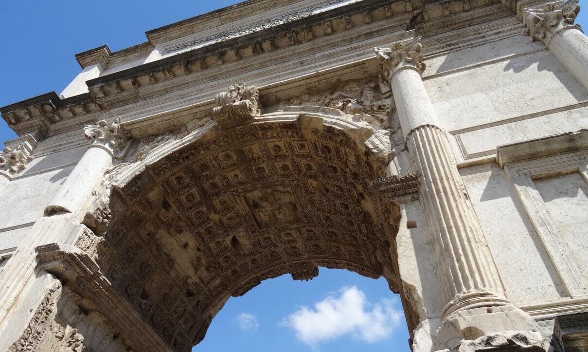 Symbol of Arch of Titus