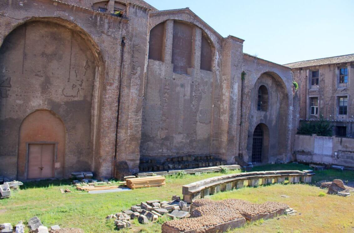 Baths of Diocletian side walls