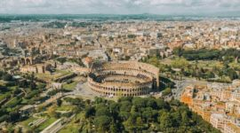 The Colosseum Aerial Views & Side Views: Don't Miss this Beauty!