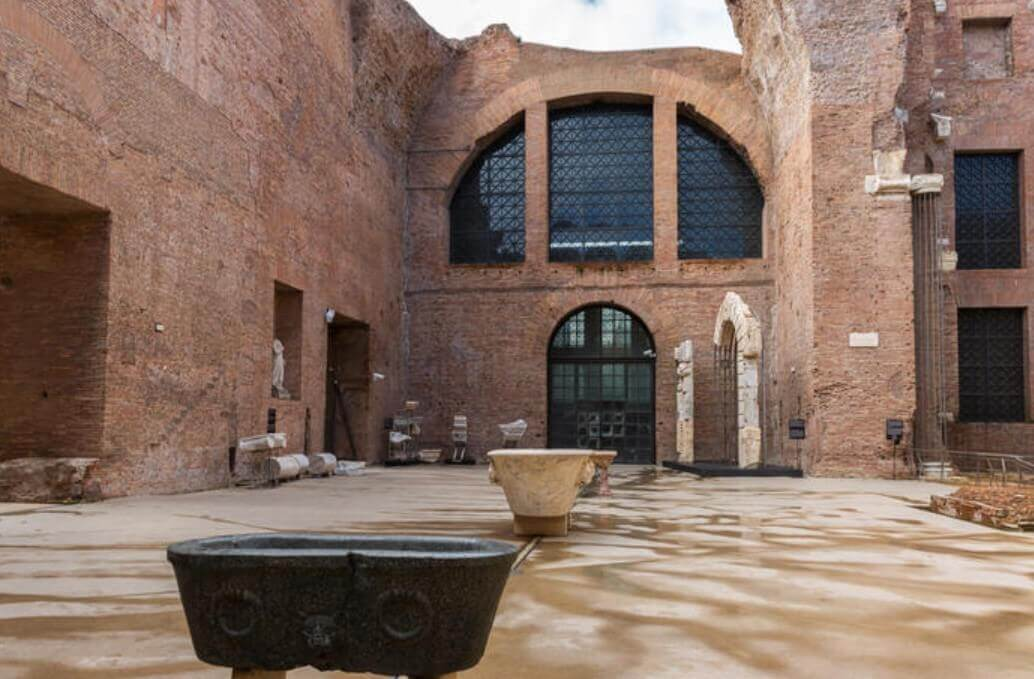 Baths of Diocletian architecture