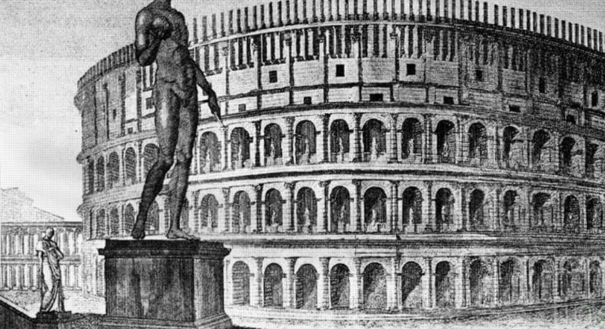 The history of statue Nero