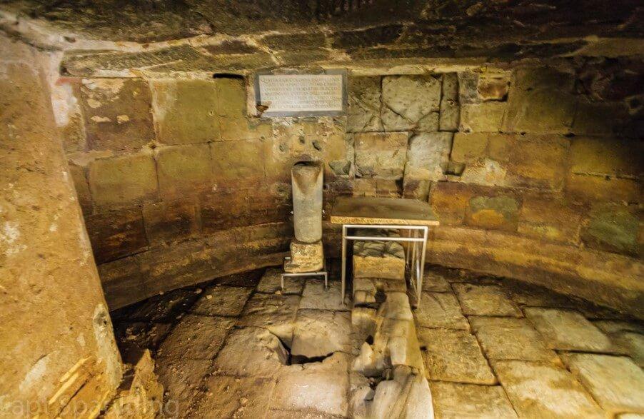 Mamertine prison history