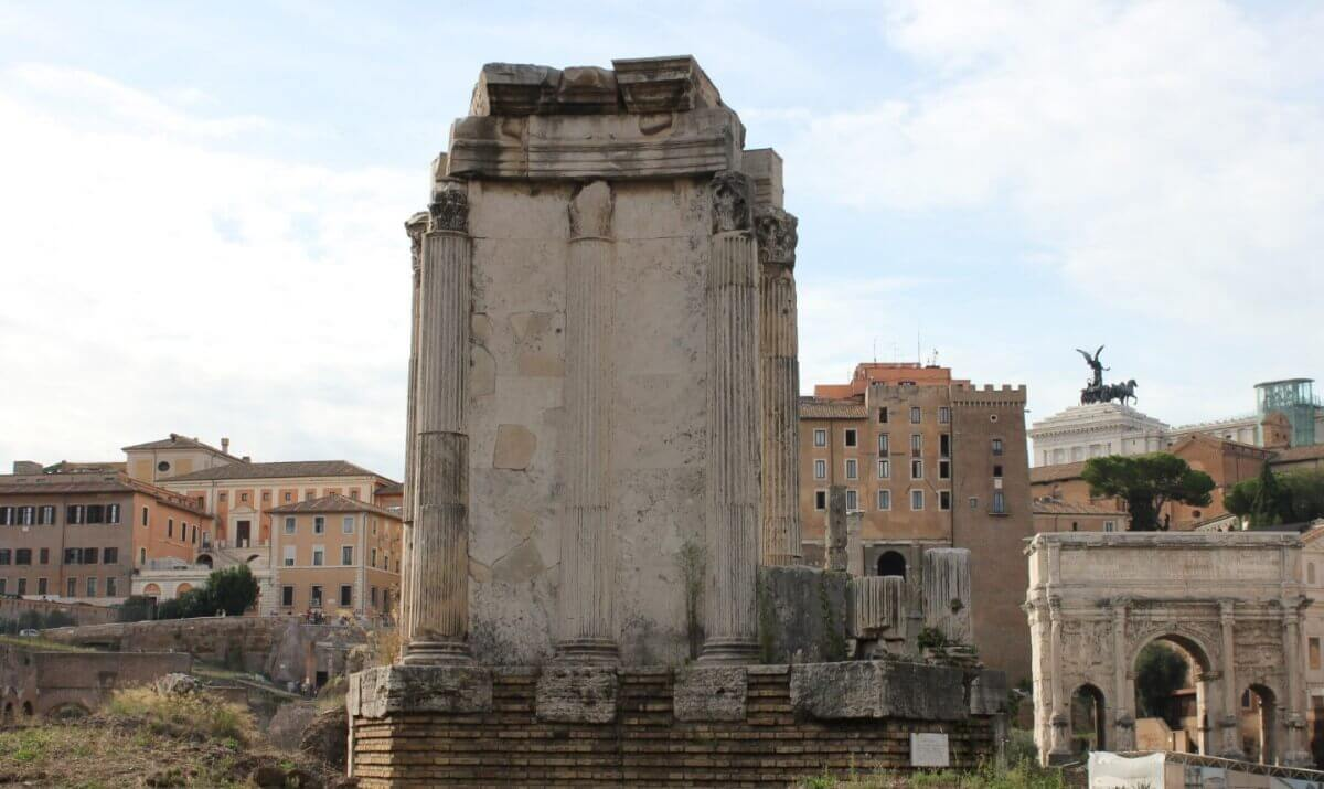The history of Vestal temple