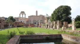 Temple of Vesta Inside Look, Location & History Facts