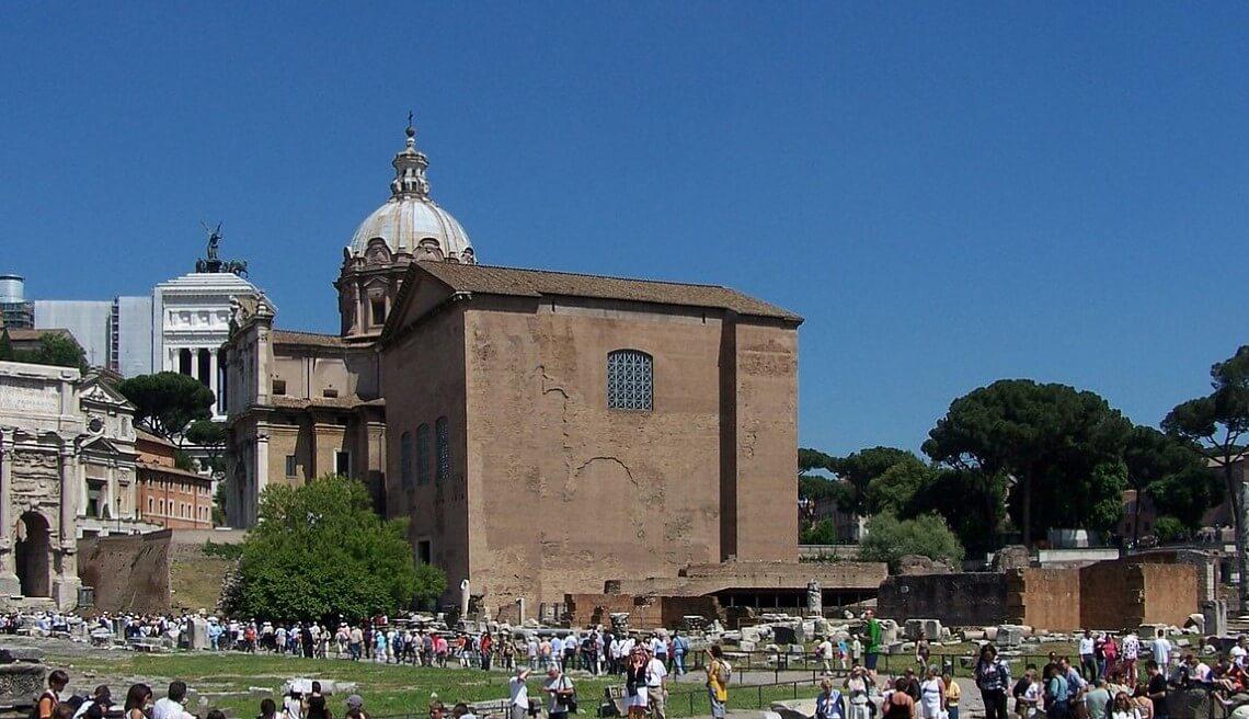 Rome senate building