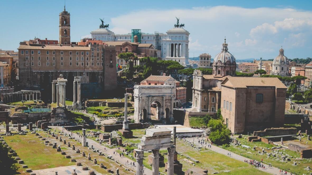Curia Julia in Rome