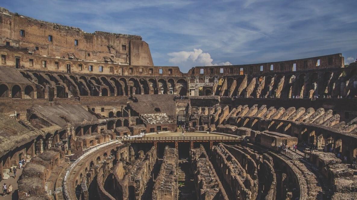 Gladiators in Colosseum