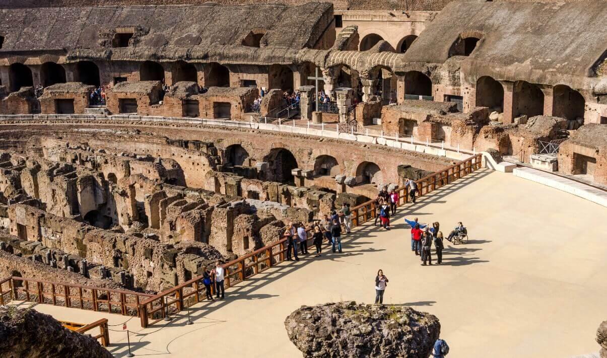 Velarium Colosseum roof