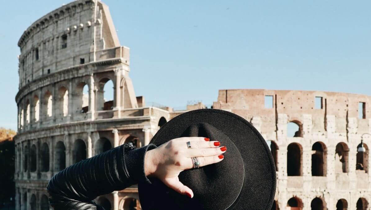 Purpose Colosseum awning
