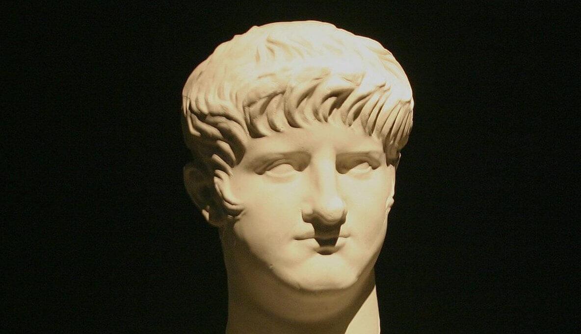Emperor Nero statue