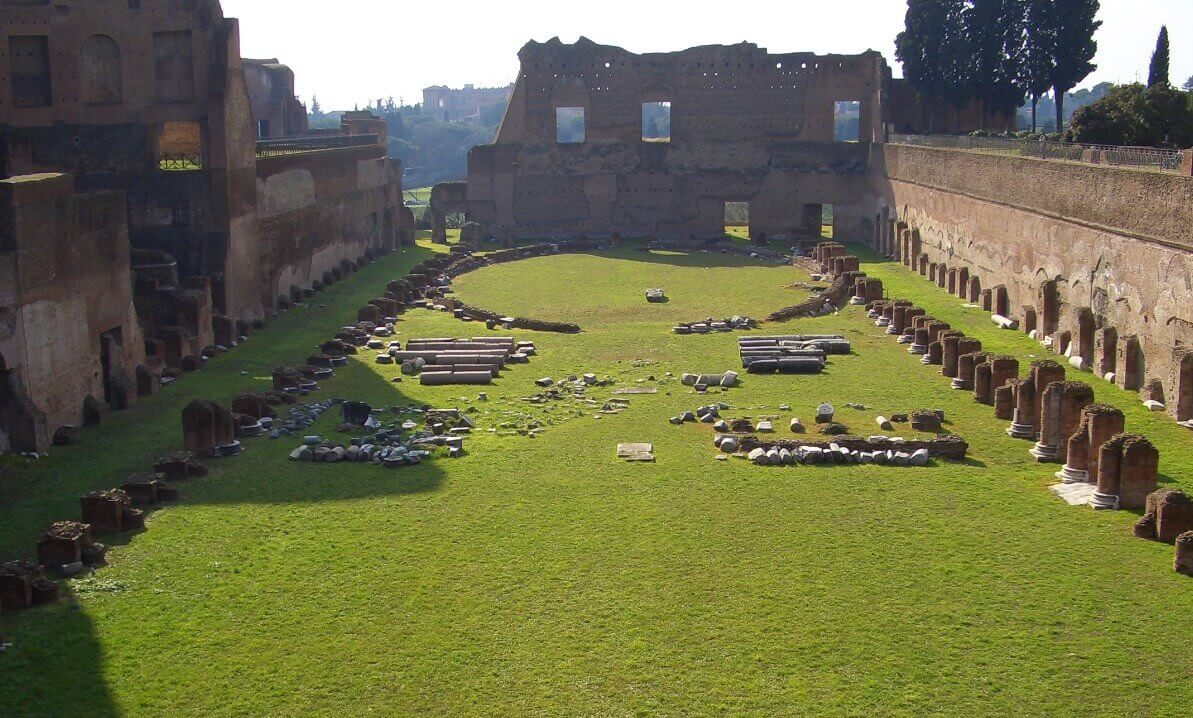 Nero's Palace in Rome