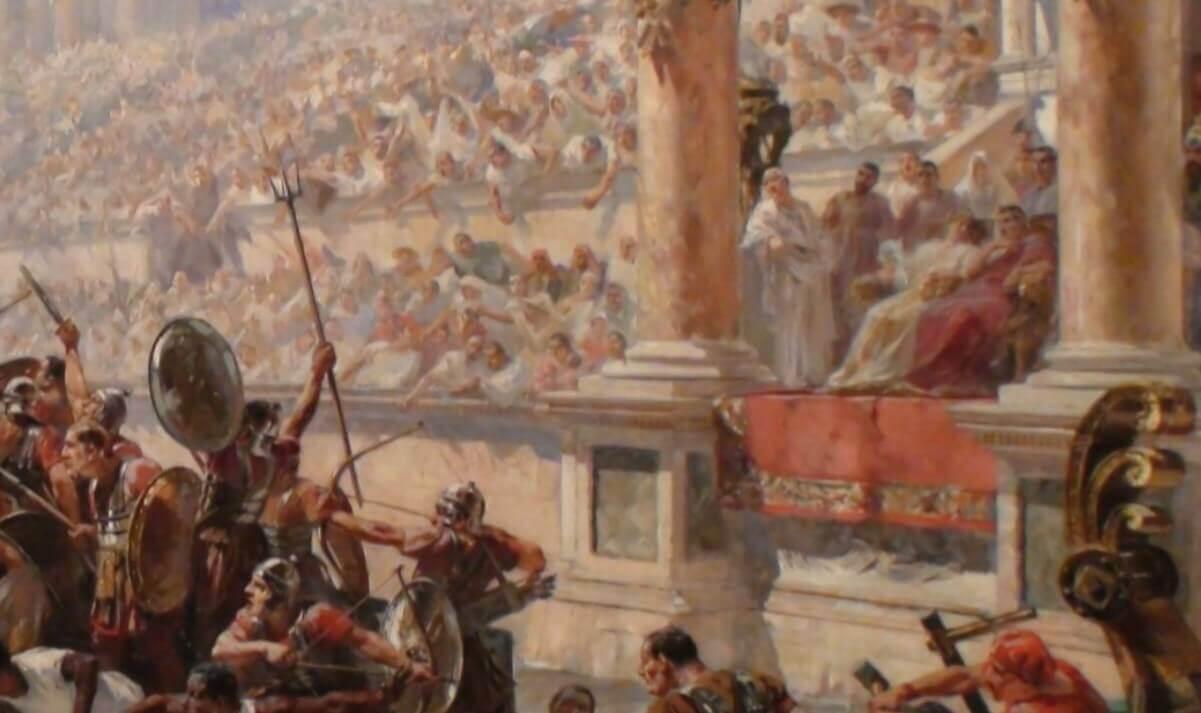 Naumachiae in Colosseum