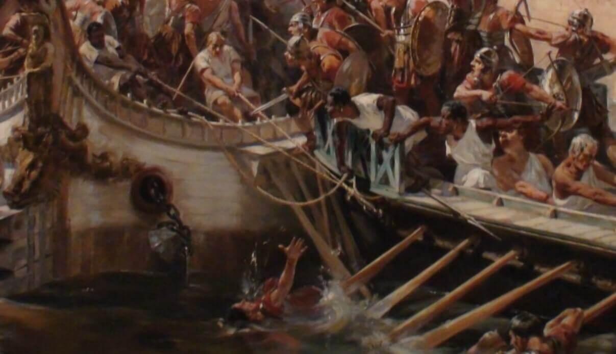 Sea battles in Rome