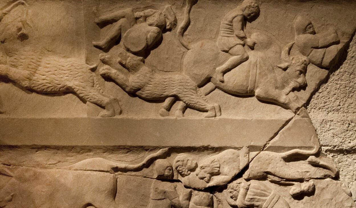Ancient Rome Damnatio ad Bestias